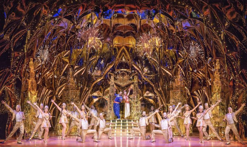 Friend Like Me. Aladdin North American Tour. Photo by Deen van Meer. © Disney