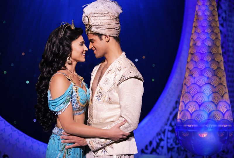 Lissa deGuzman (Jasmine) and Clinton Greenspan (Aladdin). Aladdin North American Tour. Photo by Deen van Meer. © Disney