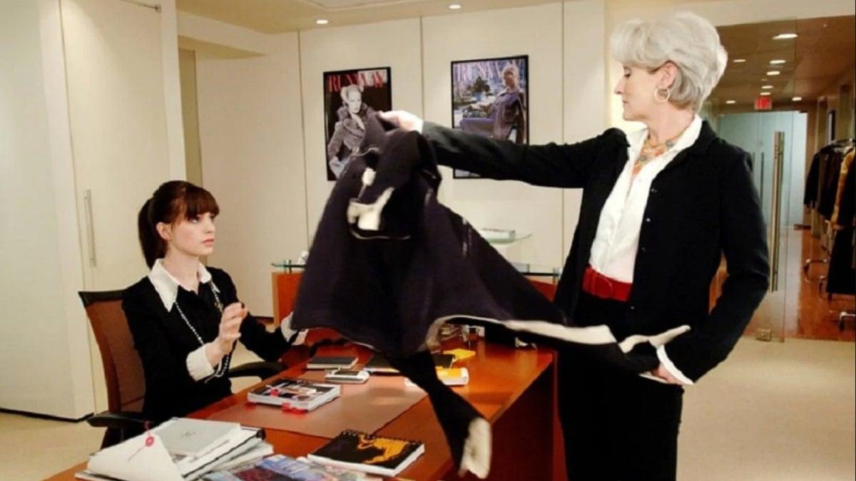 film still - Devil Wears Prada - Meryl Streep - Anne Hathaway - 2006 -  Fox 2000 Pictures