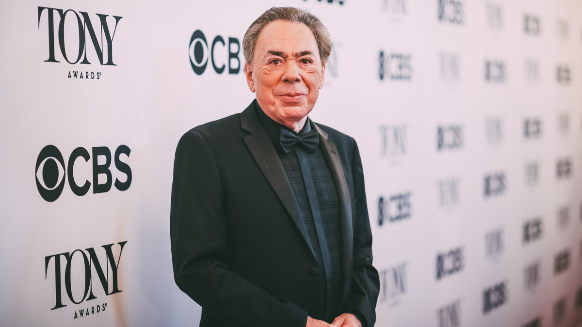 Tony Awards Winner Circle - Andrew Lloyd-Webber- 6/18 - EMK