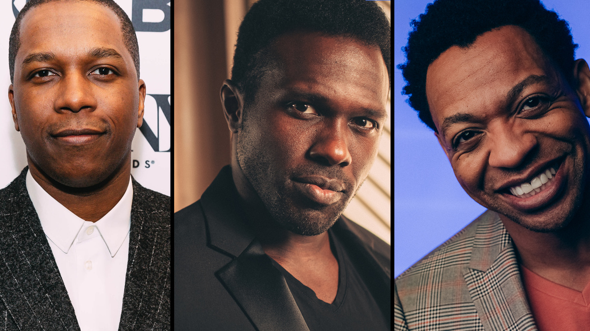 Michael James Scott - Leslie Odom Jr - Joshua Henry - Derrick Baskin - 8/20 - CM - EMK