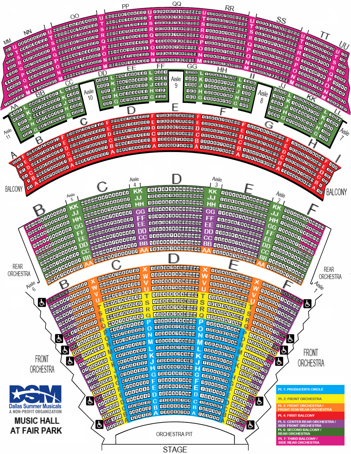 2019-2020 Seating Chart